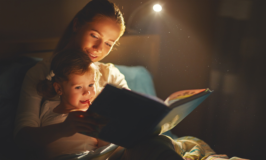 establish routines reading child bedtime